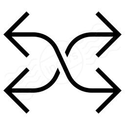 Arrow Mix Icon 256x256