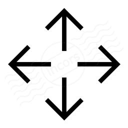Arrow Spread Icon 256x256