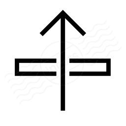Arrow Through Icon 256x256