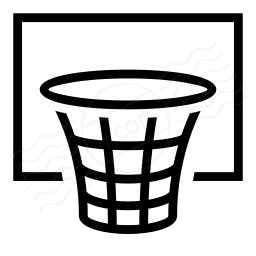 Basketball Hoop Icon 256x256
