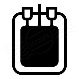 Blood Bag Icon 256x256