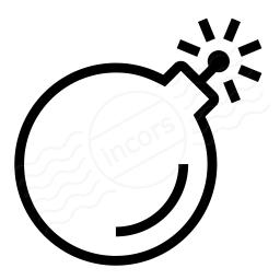Iconexperience I Collection Bomb Icon