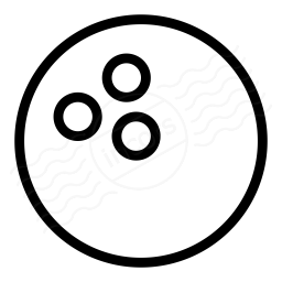 Bowling Ball Icon 256x256