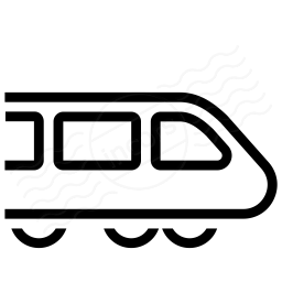 Iconexperience I Collection Bullet Train Icon