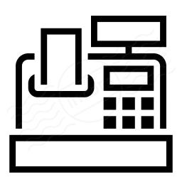Cash Register Icon 256x256