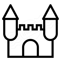 Iconexperience I Collection Castle Icon