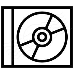 Cd Case Icon 256x256