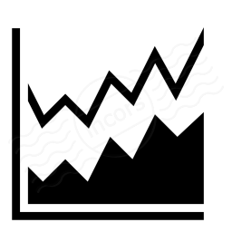 Chart Area Icon 256x256