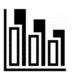 Chart Column Icon 256x256