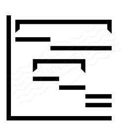Iconexperience i collection chart gantt icon chart gantt icon 256x256 ccuart Choice Image