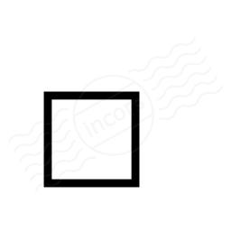Checkbox Unchecked Icon 256x256
