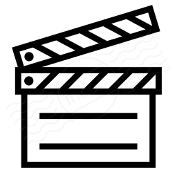 Clapperboard Icon 256x256