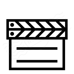 Clapperboard Closed Icon 256x256