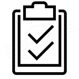 Clipboard Checks Icon 256x256