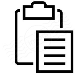 Clipboard Paste Icon 256x256