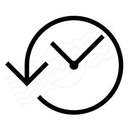 Clock Back Icon 256x256