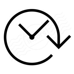 Clock Forward Icon 256x256