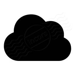 Cloud Dark Icon 256x256