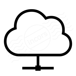 Cloud Network Icon 256x256