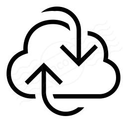 Cloud Refresh Icon 256x256