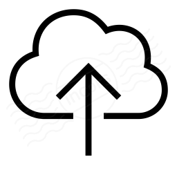 Cloud Upload Icon 256x256