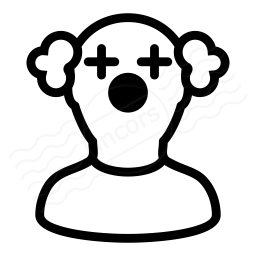 Clown Icon 256x256