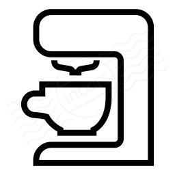 Coffee Machine Icon 256x256
