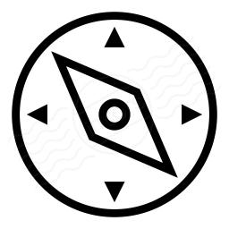 Compass Icon 256x256