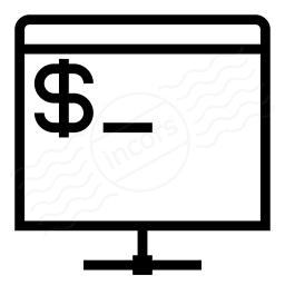 Console Network Icon 256x256