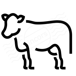 Cow Icon 256x256