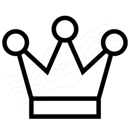 Iconexperience I Collection Crown Icon