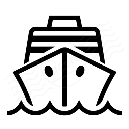IconExperience I Collection Cruise Ship Icon