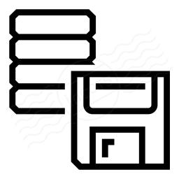 Data Floppy Disk Icon 256x256