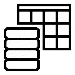 Data Table Icon 256x256