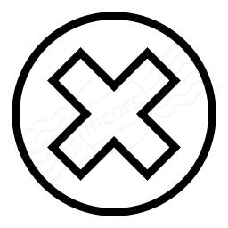 Delete Icon 256x256