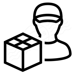 Delivery Man Icon 256x256