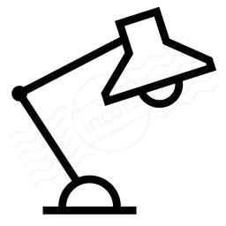 Desk Lamp Icon 256x256