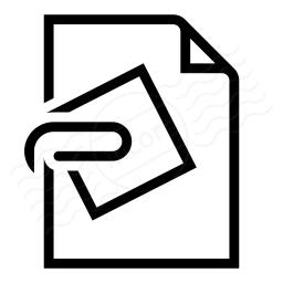 Document Attachment Icon 256x256