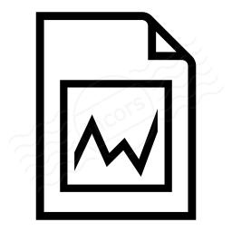 Document Chart Icon 256x256