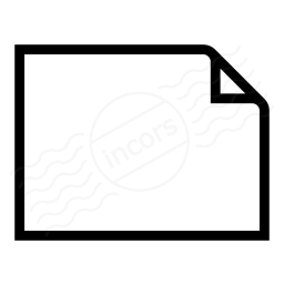Document Empty Landscape Icon 256x256