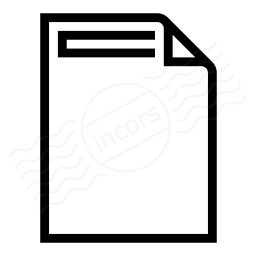 Document Header Icon 256x256