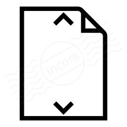 Document Height Icon 256x256