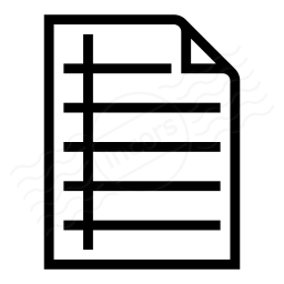 Document Notebook Icon 256x256