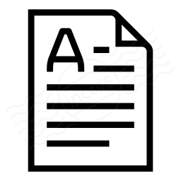 Document Orientation Portrait Icon 256x256