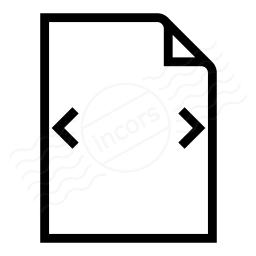 Document Width Icon 256x256