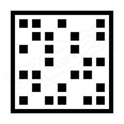 Dot Matrix Icon 256x256