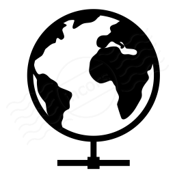 Earth Network Icon 256x256