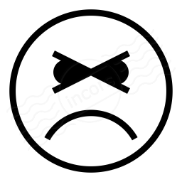 Emoticon Angry Icon 256x256