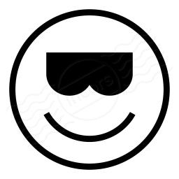Emoticon Cool Icon 256x256