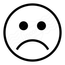Emoticon Frown Icon 256x256